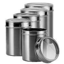 <b>Stainless Steel</b> Container