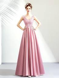 <b>Temperament pink</b> evening <b>dress</b>, birthday party <b>dress</b> female ...
