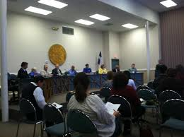 (New Braunfels, TX) -- The New Braunfels ISD is letting parents know that they are considering doing away with all intra-district school transfers for NBISD ... - NBISD%2520School%2520Board%2520Meeting_0