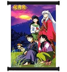 x plush wall: inuyasha anime fabric wall scroll poster quot x quot inches
