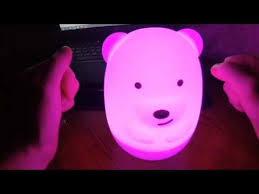обзор <b>светильника LED Rombica Bear</b> - YouTube