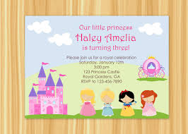 princess party invitation princess party birthday snow cinderella party princess birthday 128270zoom