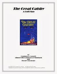 teach it write literature novel ideas high school unit plan the great gatsby