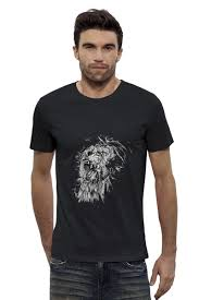 "Футболка Wearcraft Premium Slim Fit ""Growl <b>lion</b>"" #642273 от amid ..."