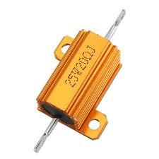 <b>3pcs RX24 25W</b> 20R 20RJ Metal Aluminum Case High Power ...