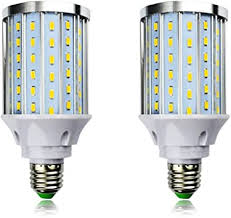 MD Lighting 30W <b>E27 LED Corn Light</b> Bulbs(2 Pack)- 108 LEDs ...