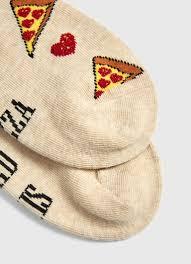 <b>Носки с жаккардом</b> «<b>пицца</b>» (LN6V4E-T2) купить за 149 руб. в ...