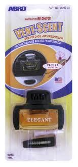 ABRO <b>Ароматизатор для автомобиля</b> Vent-Scent Elegant ваниль ...