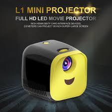 <b>L1 Mini Projector</b> 1080P Full HD <b>LED</b> Movie Home Theater Video ...