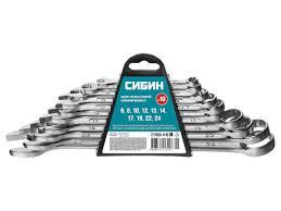 <b>Набор ключей Сибин 6</b> 24mm 10шт z01 - Чижик