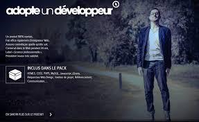 cv originaux florilège de rentrée jobweb adopteundeveloppeur com présente loïc rosy intégrateur et développeur web sur nantes