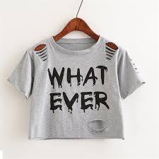 Merry Pretty New <b>Summer Fashion Women</b> T Shirt WHAT EVER ...
