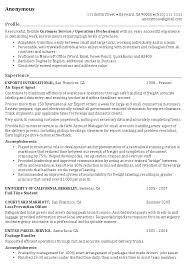 operations manager resume operations_professional_resume_example operation manager resume