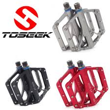 1 Pair <b>Aluminum alloy MTB Mountain</b> Road <b>Bike</b> Pedals Flat ...