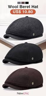 Men's <b>Winter Thicken Warm</b> Wool | NC* Hats & Caps | Pinterest ...