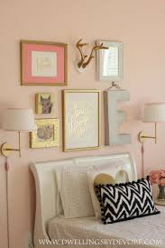 gorgeous rose gold home decor