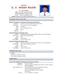 resume format for teachers job samples of resumes job fi doc700990 teacher resume sample student teaching resume sample ey6