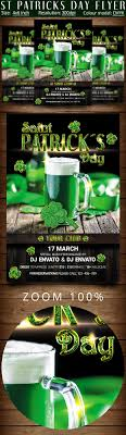 st patrick day flyer template flyer templates on creative market st patrick day flyer