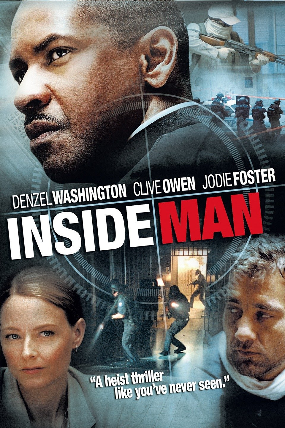 Inside Man (2006) Dual Audio {Hindi-English} 480p | 720p
