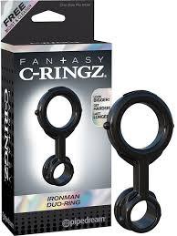 Эрекционное Кольцо Ironman Duo-Ring На Пенис и Мошонку ...