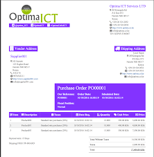 professional report templates odoo apps purchase order template modern font family noticiatext font size 11px theme color 8333ff