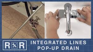Bathroom Faucet Installation (<b>1 Handle 1 Hole</b> | Pop-Up Drain ...