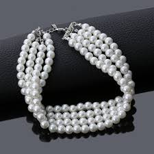 2019 Fashion Jewelry Multi Layer Chains <b>Imitation Pearl Necklaces</b> ...