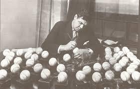 hauls of shame breaking news babe ruth signs several dozen baseballs