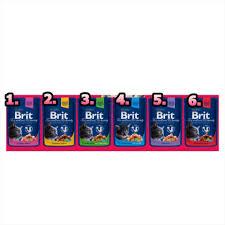 <b>Brit Premium Cat</b> Pouch     1.Salmon&Trout... - Perfect Pets Sdn Bhd