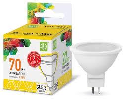 <b>Лампа</b> светодиодная <b>ASD LED</b>-<b>JCDR</b>-STD, <b>GU5</b>.<b>3</b>, R52, 7.5Вт ...