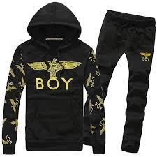 Spring Autumn Hot Mens Tracksuit Set <b>2015 New Fashion</b> Hood ...
