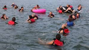 'The water is amazing': Montrealers <b>jump</b> into St. Lawrence on <b>hot</b> ...