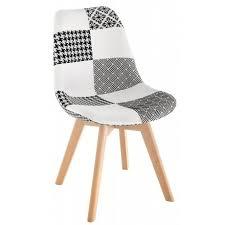 Обеденный <b>стул Mille</b> черно-белого цвета — купить по цене ...