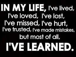 Image gallery for : quotes learning life lessons