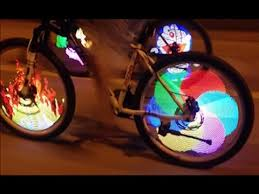 Tutorial on Installation of Bicycle Tire <b>Spoke</b> LED <b>Light Bike Wheel</b> ...