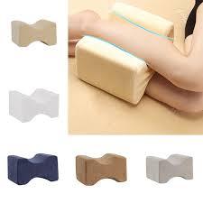 Memory Foam Knee Leg <b>Pillow Bed Cushion</b> Wedge <b>Pressure</b> ...
