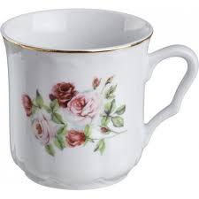 <b>Фарфоровая кружка Розы 300 мл</b> (артикул 606-711)