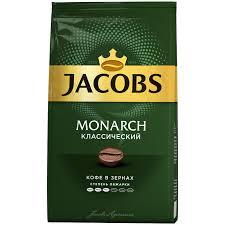 """<b>Кофе в зернах Jacobs</b> """"Monarch"""", вакуумный пакет, 430г"""