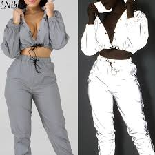 Nibber fashion Reflective Fluorescence <b>women</b> jackets 2019 new ...