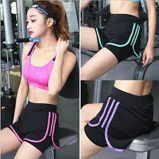 Sports Shorts Ladies Mesh Tennis Shorts Women <b>Yoga Clothes</b> ...