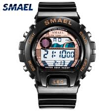 <b>SMAEL Digital Wristwatches Luxury</b> Brand Big Men Clock Cool ...