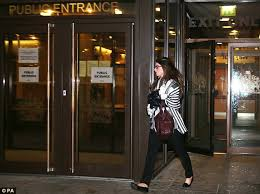 Kathryn Smith leaves Manchester Crown Court where she is charged with conspiracy to commit misconduct in public office as the police call-handler fed secret ... - article-2523376-1A10520F00000578-635_634x474