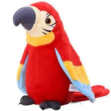 <b>Electronic</b> Pets Talking Parrot Toys Funny Sound Record <b>Plush</b> ...