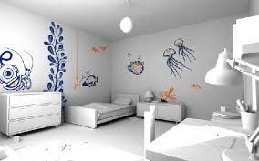 bedroom painting designs: modest cool designs for bedroom walls cool ideas