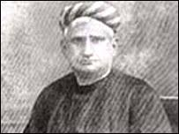 Bankim Chandra Chattopadhyay wrote Vande Mataram - _42026544_bankimchandra203
