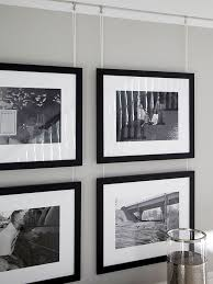 ideas white picture frames photo gallery convert photos you want to group on a wall to black and
