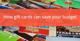 Gift Cards: How & Why You Should Use Them to Stick to Your Budget