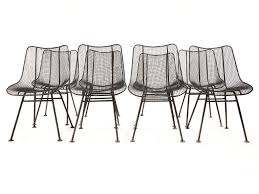 mesh patio chairs russell woodard wire