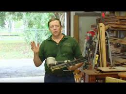 How to Use a <b>Framing Nailer</b> - YouTube