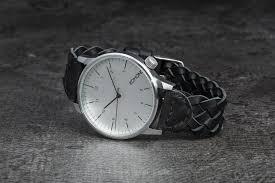 <b>Часы Komono Winston Watch Woven</b> Black | Footshop